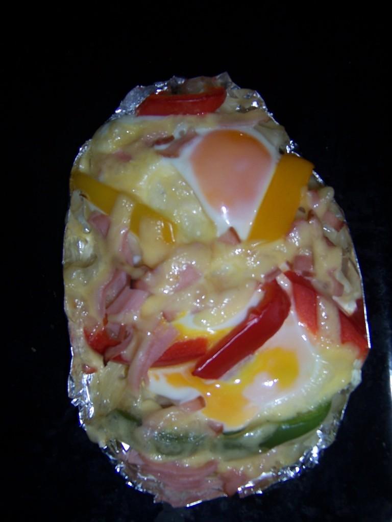 Zapieczone jajko