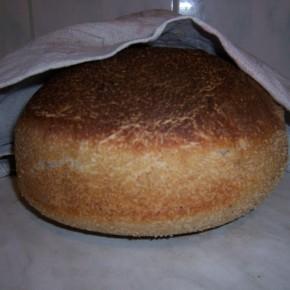 Grecki chleb na zakwasie