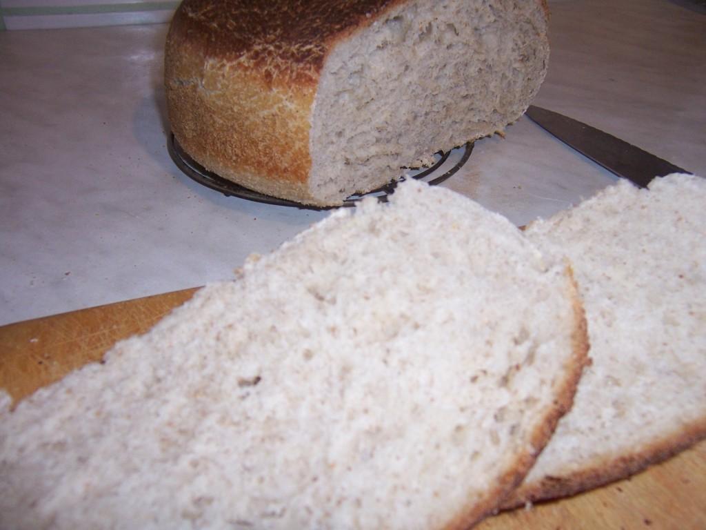 Chleb grecki- kromka
