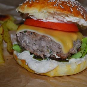 Domowy hamburger