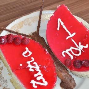 Tort na roczek - tort motyl