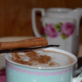 Waniliowe kakao z cynamonem