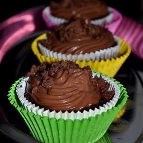 Muffinki jaglano czekoladowe
