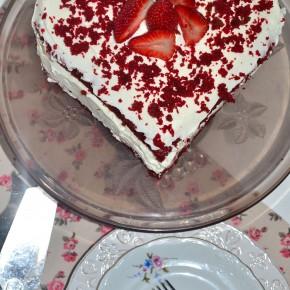 Tort Red Velvet na oleju rzepakowym